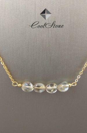Ожерелье с рутиловым кварцем